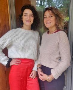 Laura Enos et Cécile Iglicki Ostéopathes
